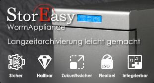 StorEasy WormAppliance - Langzeitarchivierung leicht gemacht